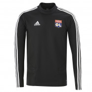Black round neck training sweatshirt Adult OL adidas 19/20