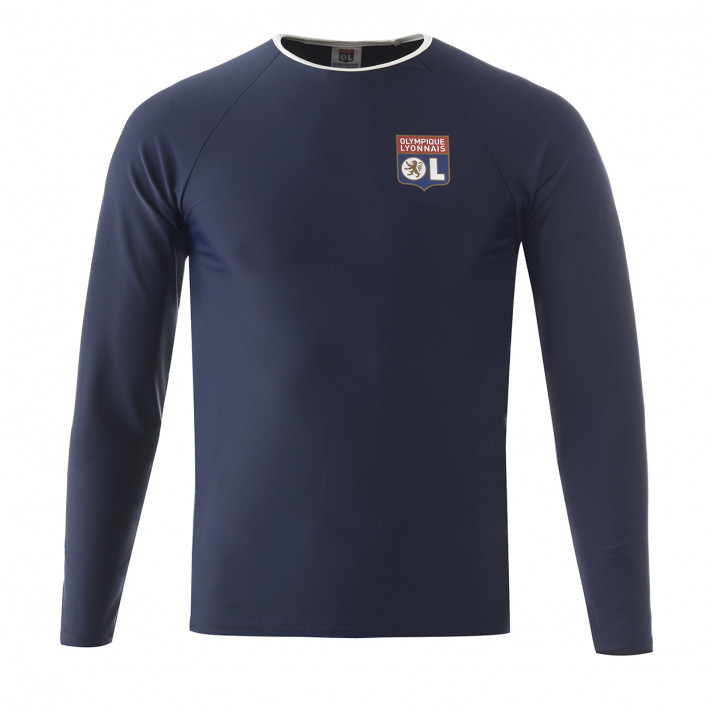 T-shirt anti-UV bleu marine Adulte OL