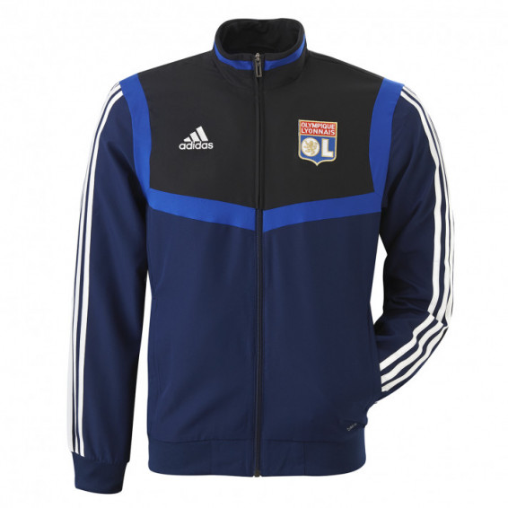 Veste de survetement junior bleu marine adidas 19/20