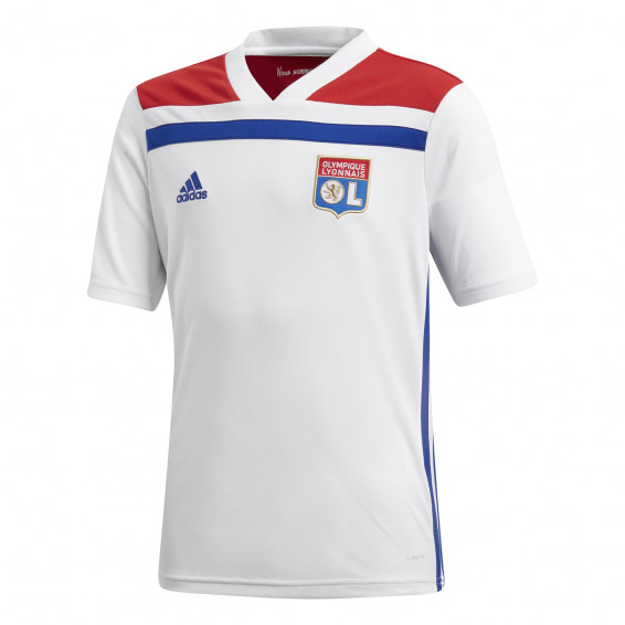 Olympique Lyonnais Junior Home Jersey 2018/2019 Without sponsor