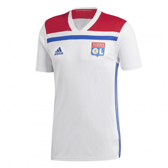 Olympique Lyonnais Adult Home Jersey 2018/2019 Without sponsor