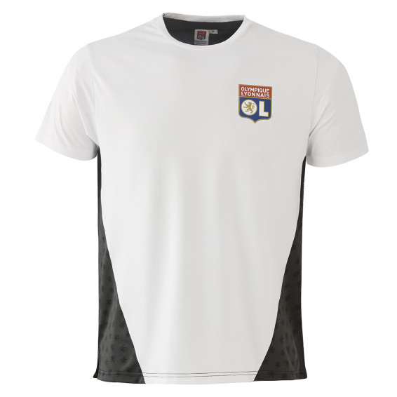 White Jersey Training Teck Adult