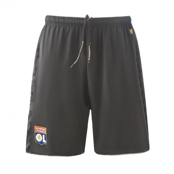 Short TrainingTeck gris adulte
