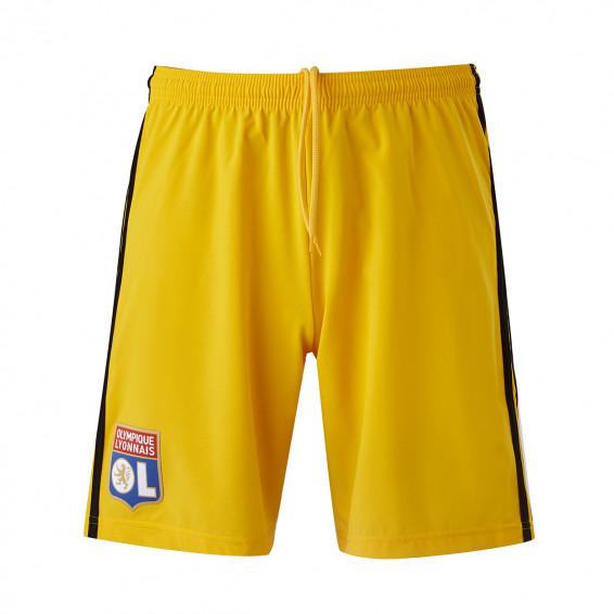 Yellow junior goalie shorts 19/20