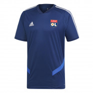 Navy blue training jersey Junior OL adidas 19/20