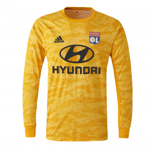 Maillot Gardien manches longues jaune Junior 19-20 - Taille - 13-14A