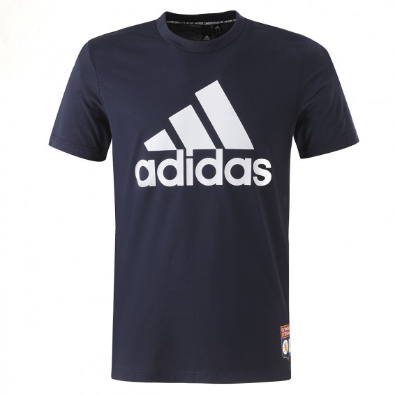adidas Men's Blue T-Shirt