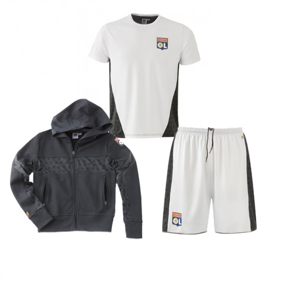 Tenue Training Teck blanc Junior