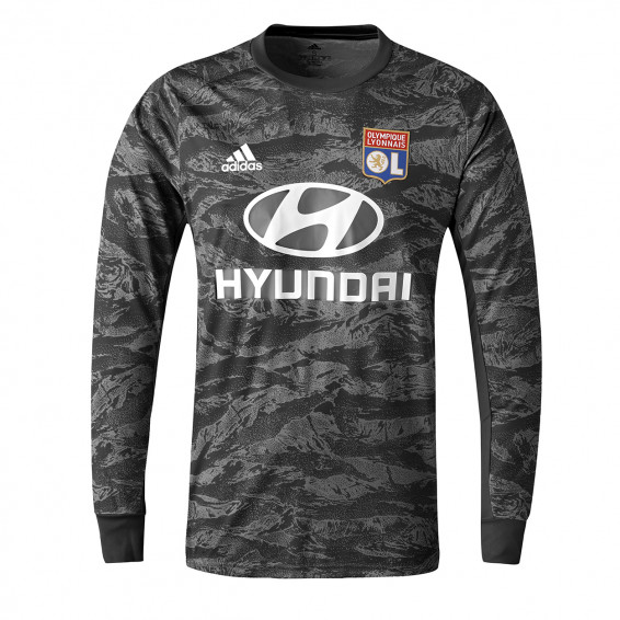 Maillot Gardien manches longues noir OL adidas 19-20