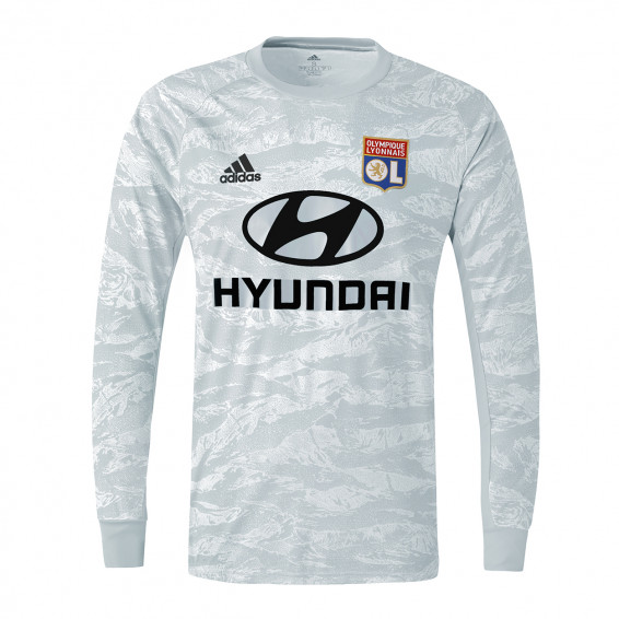 Junior grey long-sleeved goalie jersey 19/20