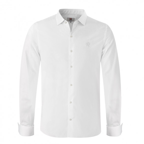 White shirt with musketeer cuffs 1950 OL