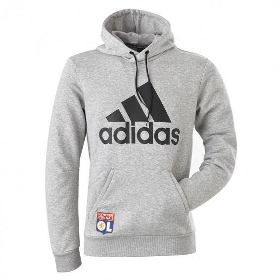 Sweat-shirt adidas adulte gris