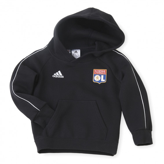 Sweat à capuche molleton adidas junior