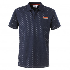 Polo bleu marine homme 1950 - Taille - L