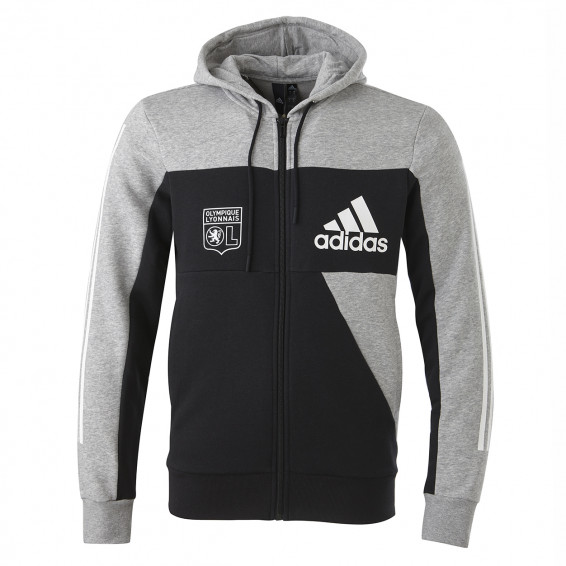 adidas ID jacket grey/black man