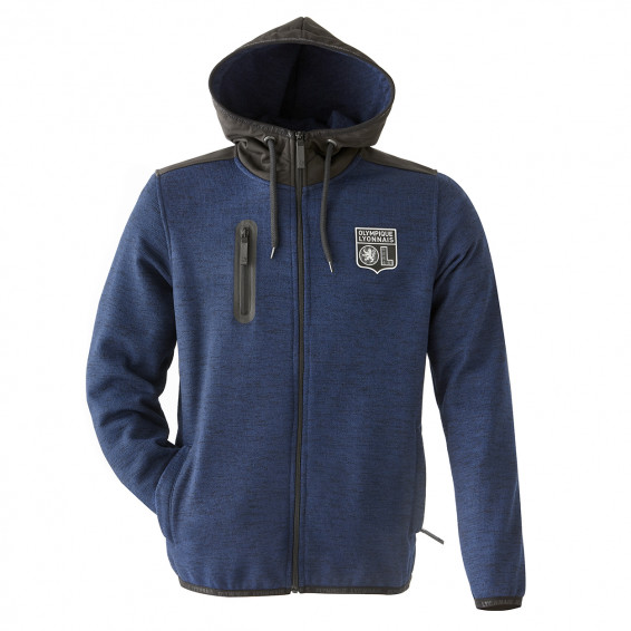 BOY'S HOODED BLUE JACKET