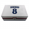 Maillot collector Juninho dédicacé et tablette