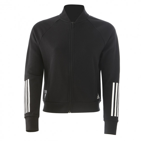 adidas Women's Black Zip Jacket