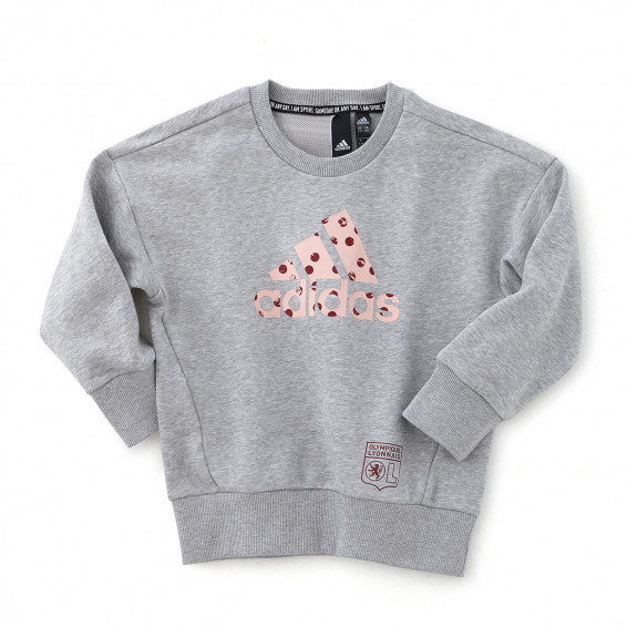 SWEAT-SHIRT FILLE MUST HAVES BADGE OF SPORT
