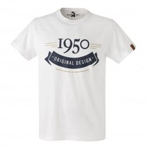 T-Shirt Homme 1950 Blanc - Taille - S