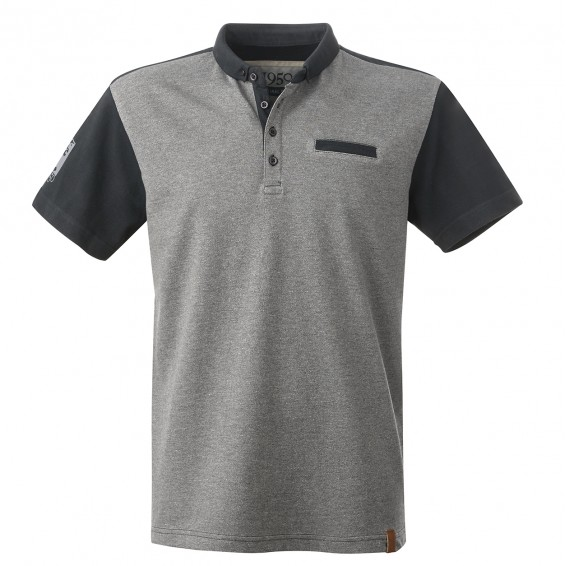 Polo Homme 1950 - Gris/Marine